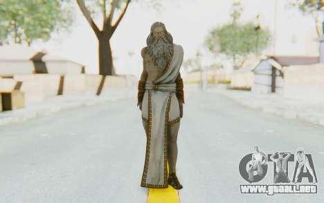 Zeus Skin para GTA San Andreas segunda pantalla