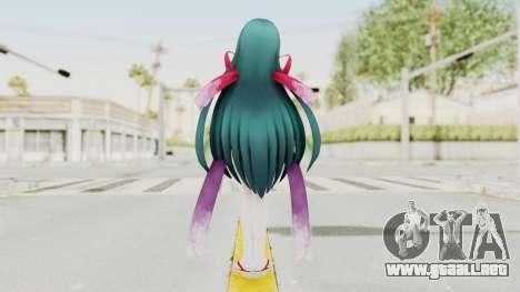Sengoku Otome Tohuku para GTA San Andreas tercera pantalla