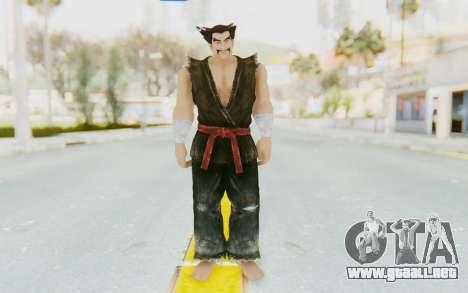 Heihachi Mishima (Young) para GTA San Andreas segunda pantalla