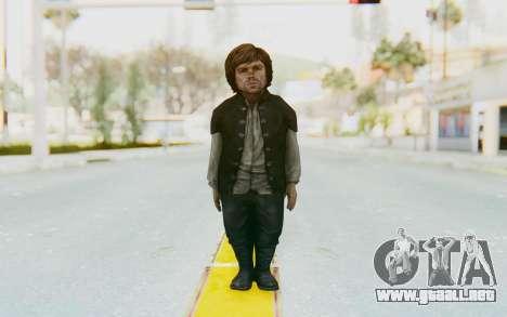 Game Of Thrones - Tyrion Lannister Prison Outfit para GTA San Andreas segunda pantalla