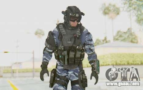 Federation Elite Assault Urban-Navy para GTA San Andreas