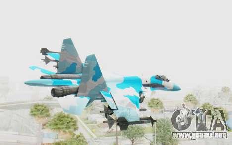 SU-37 American Ornament para la visión correcta GTA San Andreas
