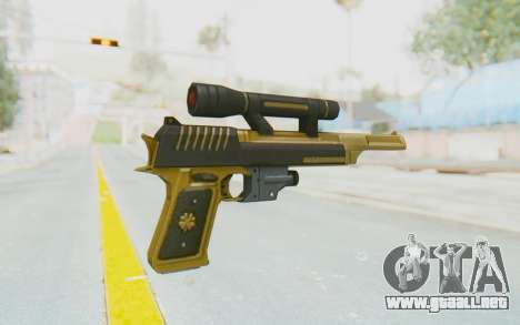 APB Reloaded - ACT 44 Gold para GTA San Andreas segunda pantalla