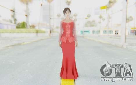 Linda Meilinda Kebaya Lady In Red para GTA San Andreas segunda pantalla