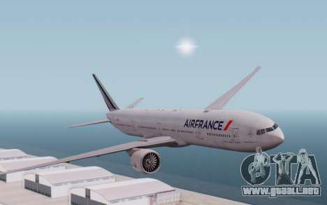 Boeing 777-300ER France Air para GTA San Andreas
