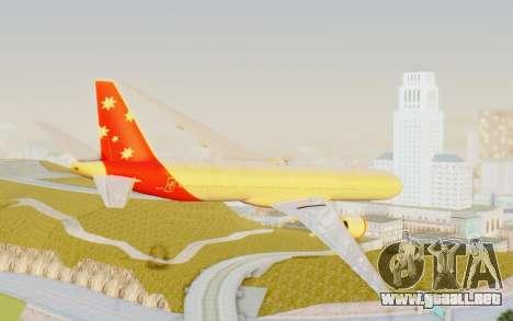 Boeing 777-300ER Virgin Australia v1 para GTA San Andreas left