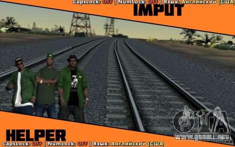 Input Helper para GTA San Andreas