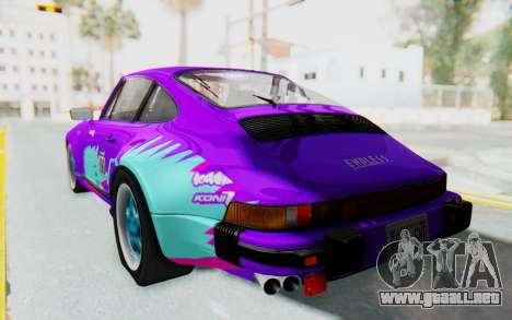 Porsche 911 Turbo 3.2 Coupe (930) 1985 para el motor de GTA San Andreas
