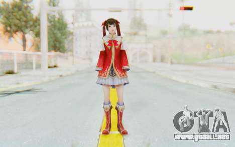 Dynasty Warriors 8 - Daqiao para GTA San Andreas segunda pantalla