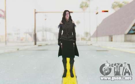 Yennefer Van Vengerberg para GTA San Andreas segunda pantalla