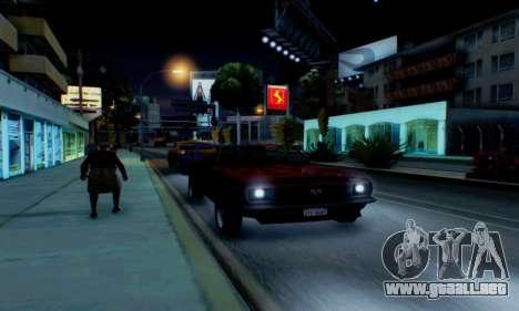 Chevrolet 369 Camaro SS para la vista superior GTA San Andreas