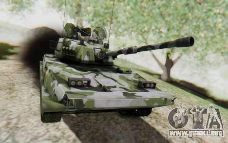 Norinco Type 63 para GTA San Andreas vista posterior izquierda