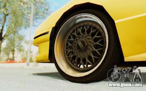 Elegy E30 para visión interna GTA San Andreas