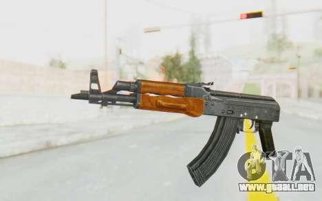 AK-47U v1 para GTA San Andreas segunda pantalla