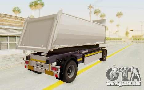 MAN TGA Energrom Edition Trailer v2 para la visión correcta GTA San Andreas