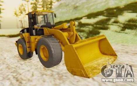 Caterpillar 966 GII para la visión correcta GTA San Andreas