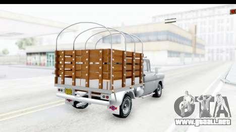 Chevrolet 3100 Diesel v1 para GTA San Andreas left