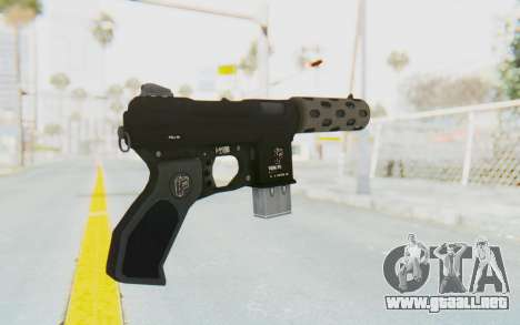 GTA 5 Vom Feuer Machine Pistol para GTA San Andreas segunda pantalla