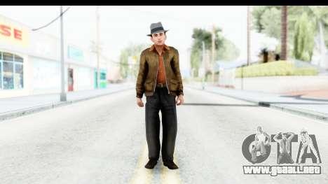 Mafia 2 - Marty para GTA San Andreas segunda pantalla