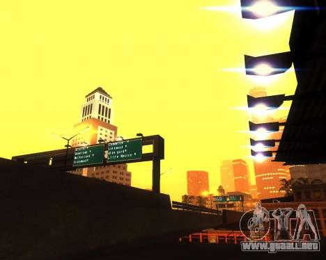 Realista ENB por medio de la PC V. 1 para GTA San Andreas quinta pantalla