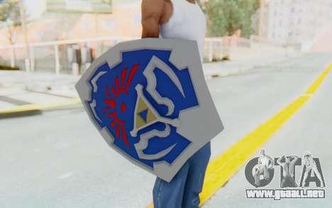 Hylian Shield from Legend of Zelda para GTA San Andreas tercera pantalla