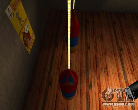 Pera de Boxeo de estilo de la bandera de armenia para GTA San Andreas segunda pantalla