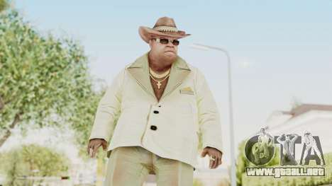 CrimeCraft - The Boss para GTA San Andreas
