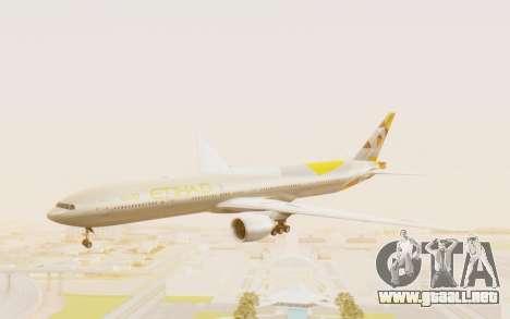 Boeing 777-300ER Etihad Airways para GTA San Andreas