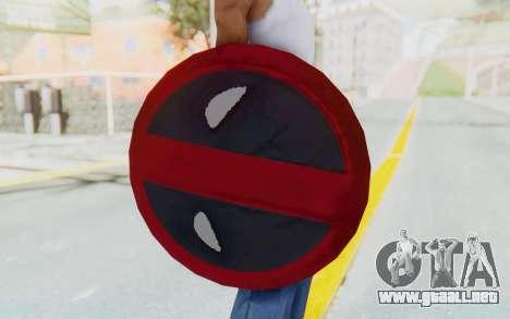 Deadpool Shield v2 para GTA San Andreas tercera pantalla