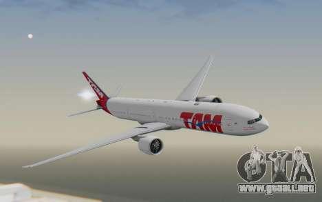 Boeing 777-300ER TAM líneas Aéreas para GTA San Andreas