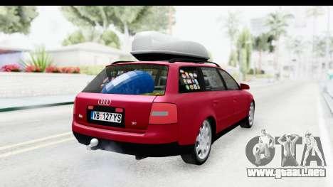 Audi A6 C5 Avant Sommerzeit para GTA San Andreas left