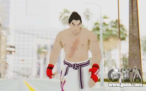 Kazuya Mishima Skin para GTA San Andreas