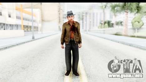 Mafia 2 - Marty Dead para GTA San Andreas segunda pantalla