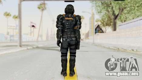 CoD Advanced Warfare KVA Heavy Soldier para GTA San Andreas tercera pantalla