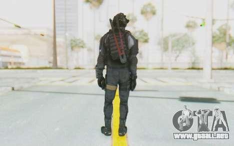 Federation Elite SMG Original para GTA San Andreas tercera pantalla