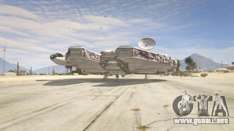 GTA 5 Star Wars Millenium Falcon 5.0 tercera captura de pantalla