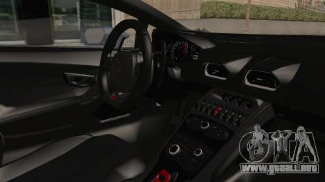 Lamborghini Huracan Stance Style para visión interna GTA San Andreas