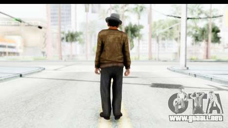 Mafia 2 - Marty para GTA San Andreas tercera pantalla