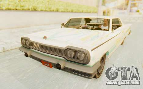 GTA 5 Declasse Voodoo Alternative v2 para el motor de GTA San Andreas