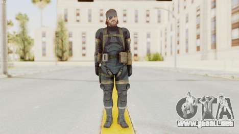 MGSV Phantom Pain Big Boss SV Sneaking Suit v1 para GTA San Andreas segunda pantalla