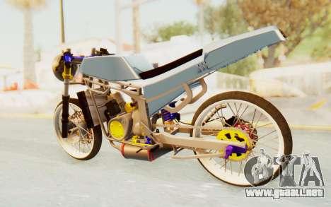 Kawasaki Ninja 150S Thailock para GTA San Andreas left