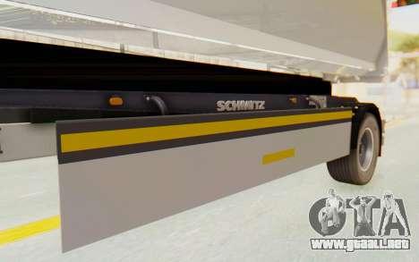 MAN TGA Energrom Edition Trailer v2 para visión interna GTA San Andreas