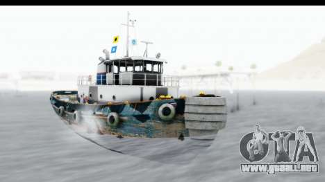 GTA 5 Buckingham Tug Boat v1 para GTA San Andreas