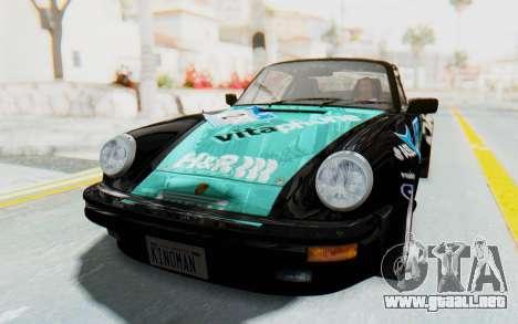 Porsche 911 Turbo 3.2 Coupe (930) 1985 para las ruedas de GTA San Andreas