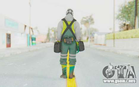 The Division Cleaners - Fumigator para GTA San Andreas tercera pantalla