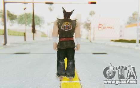 Heihachi Mishima (Young) para GTA San Andreas tercera pantalla