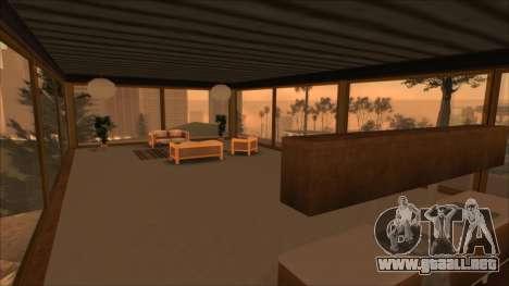 Beta Mulholland Safehouse para GTA San Andreas sucesivamente de pantalla