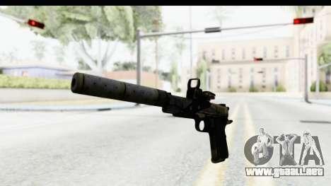 FarCry 3 - Colt 1911 Silenced para GTA San Andreas segunda pantalla