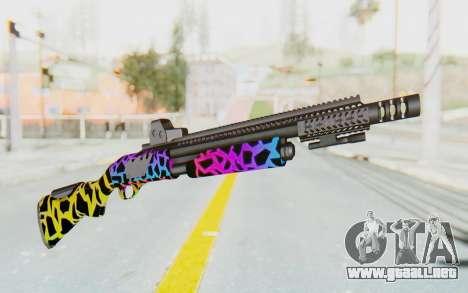 Escopeta para GTA San Andreas segunda pantalla
