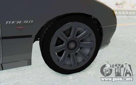 GTA 5 Imponte DF8-90 IVF para GTA San Andreas vista hacia atrás